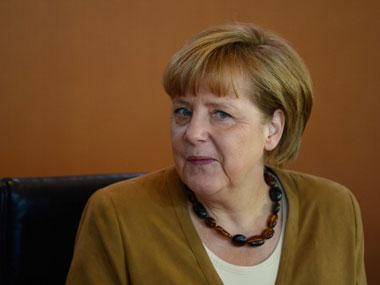 Angela Merkel. AFP.