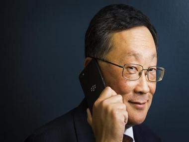 BlackBerry to dump handset business if not profitable next year: CEO John Chen