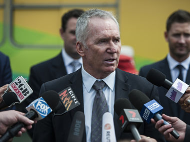 File photo of Allan Border. Getty Images