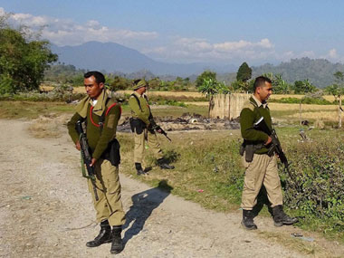 Assam Police personnel. PTI