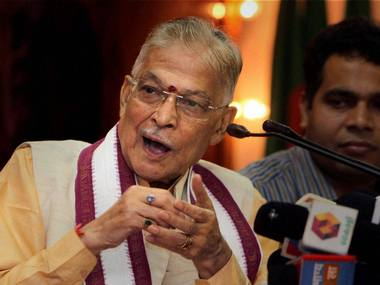 Murli Manohar Joshi says practice of discussions across party lines on national issues is almost over urges revival for sake of democracy