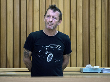 Court orders AC/DC drummer to stay off drugs after scuffle