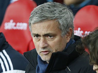 Chelsea manager Jose Mourinho. Reuters
