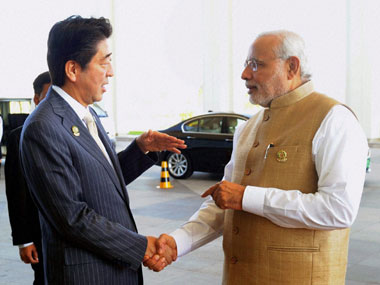 PM Modi congratulates Japans Shinzo Abe on poll victory