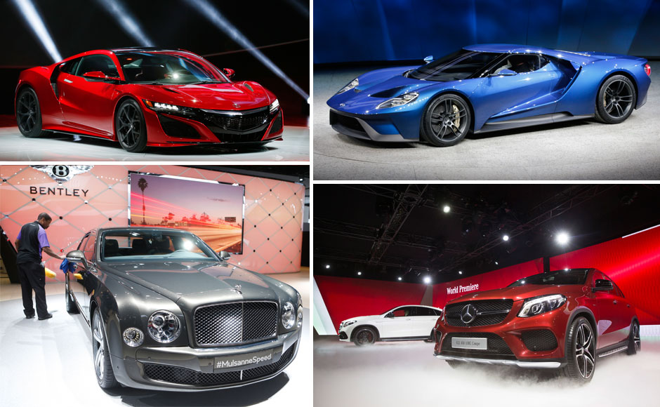 Photos The glitziest cars at this years edition of the Detroit Auto Show