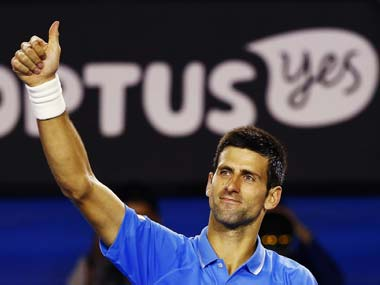 Australian Open: Djokovic cruises past Muller to reach quarterfinals