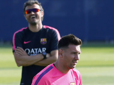 La Liga: Barcelona's outgoing boss Luis Enrique says he will cherish managing Lionel Messi rather than missing