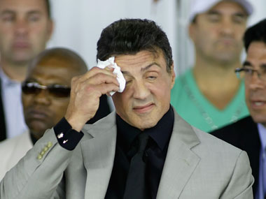 Sylvester Stallone will return as Rambo on the big screen. GettyImages