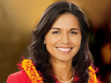 Welcome and sorry Ahead of Howdy Modi Democrat Tulsi Gabbard apologises to PM for missing Houston event