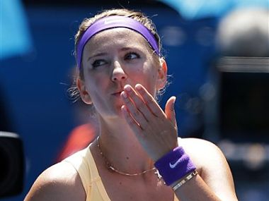 File photo of Victoria Azarenka AP
