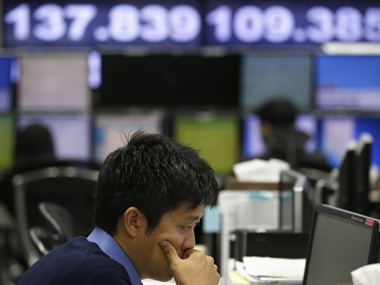 Asia shares edge up as stimulus hopes temper recession worries MSCIs AsiaPacific index outside Japan rises 053