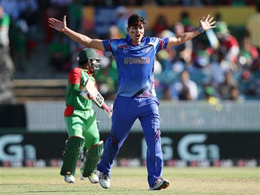The biggest surprise in Afghanistan squad is the return of the iconic Hamid Hassan. AP