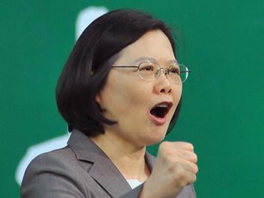 File Image.Tsai Ing-wen. AFP
