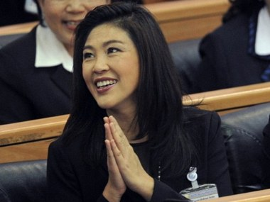Thailand presses criminal charges against former PM Yingluck Shinawatra