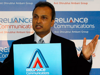 Reliance Communications head Anil Ambani. Reuters file photo