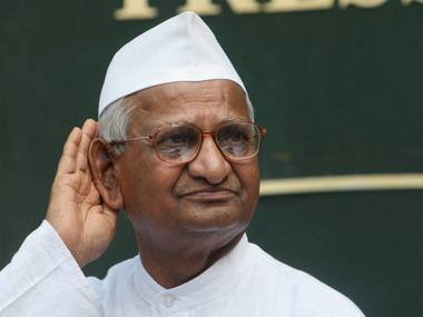 Anna Hazare slams Centre for weak Lokpal says eradicating corruption without electoral reforms not possible
