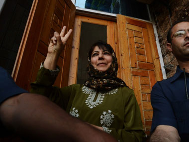 File image of Mehbooba Mufti. AFP.