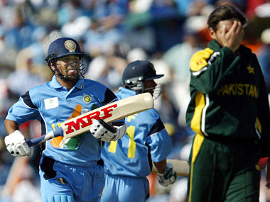 Tendulkar defined textbook savagery during the course of his 98 against Pakistan. Reuters