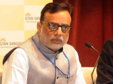 Revenue secretary Hasmukh Adhia. Image courtesy PIB
