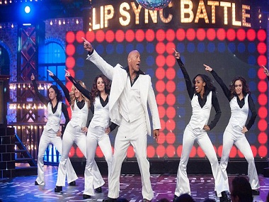 Solid as a rock: Watch Dwayne Johnson lip syncing to Taylor Swift's Shake It Off