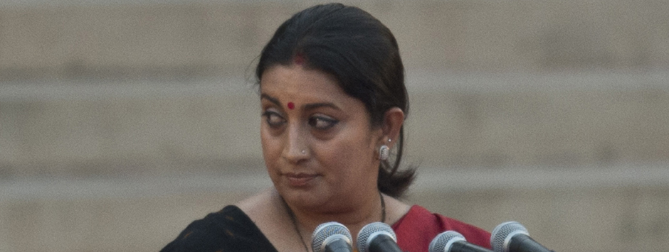 Smriti Irani does not mount the best defence by stonewalling Arnab Goswami