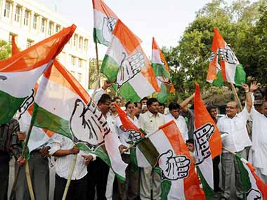 Congress workers protest outside Giriraj Singh's residence over Sonia remark