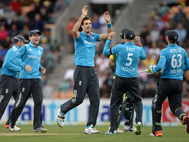 File picture of England cricketers. Getty