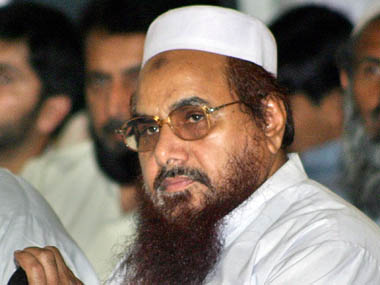 JuD Hafiz Saeed. Reuters