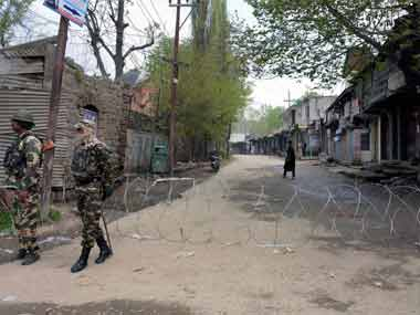 One killed after security forces fire at protest rally in J&K over Tral encounter