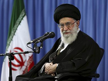 Ayatollah Ali Khamenei. AP