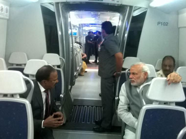 Really enjoyed the ride, tweets PM Modi after his first trip in the Delhi Metro