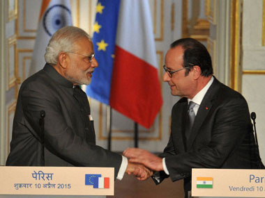 Modi hits the ground running in France bags key deals for India