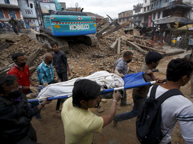 Live Nepal earthquake death toll touches 7365 100 bodies found at a village