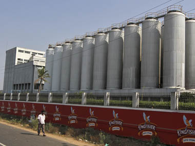 The factory of United Breweries Ltd (UB) . Reuters