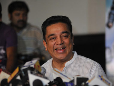 Actor Kamal Haasan. AFP