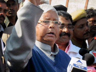 Bihar hate talk hits new low: Lalu says hes ganged up with Nitish to emasculate Modi