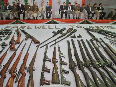 Cheap small arms becoming weapon of choice of many terror groups UN counterterrorism chief