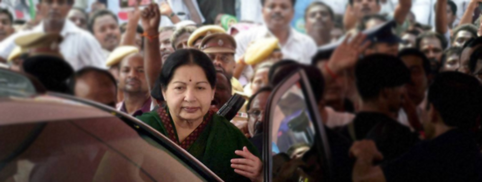 AIADMK chief Jayalalithaa sworn in as Tamil Nadu CM for fifth time
