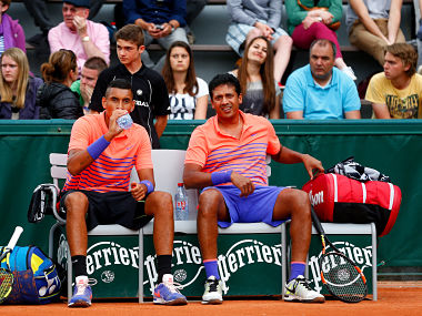 BhupathiKyrgios crash out of French Open