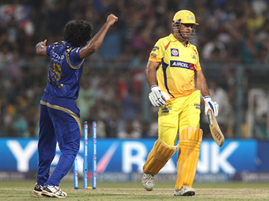 CSK were barely in the final against MI. Sportzpics