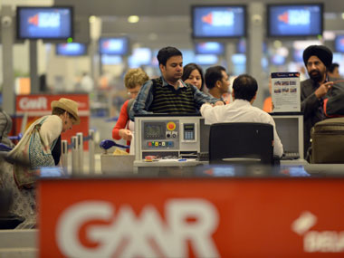 Delhi airport under CBI scanner. AFP