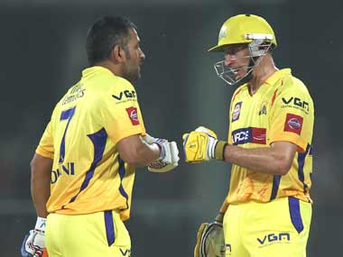 Mahendra Singh Dhoni deserves to go on his own terms, says former CSK teammate Michael Hussey