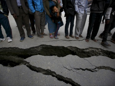 68 dead as 74 magnitude aftershock jolts earthquakehit Nepal