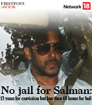 No jail for Salman: 13 years for conviction but less than 48 hours for bail