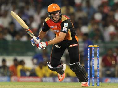 Moises Henriques was praised by SRH coach Tom Moody. Sportzpics