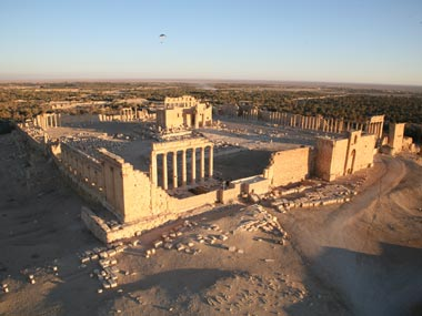 Islamic State blows up Baal Shamin temple in Syrias Palmyra antiquities chief