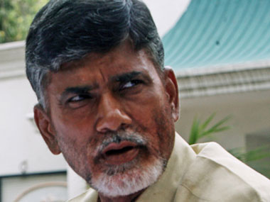 Farmer attempts suicide during Andhra CM Chandrababu Naidu's public meeting