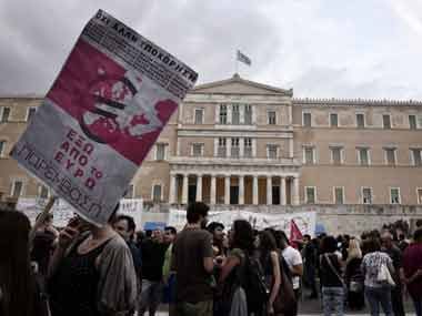 Greece exit from euro imminent as anti-austerity protests gather momentum