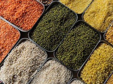 Why did the government continue importing pulses when domestic production was growing?