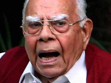Ram Jethmalani quits as Arvind Kejriwals lawyer in defamation cases filed by Arun Jaitley